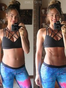 Before And After Photos Prove Perfect Body Images Can Be Deceptive