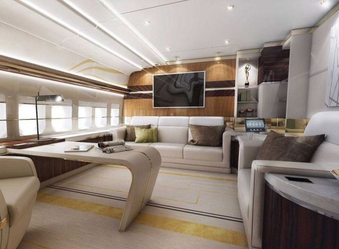 A Look Inside The Luxurious Boeing 747-8 VIP