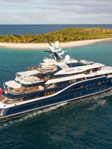 Superyacht At The Monaco Yacht Show Now On Sale For $174 Million