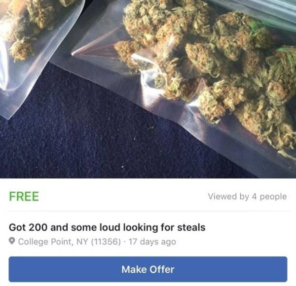 Guns, Drugs And More Illegal Items Being Listed On The Facebook Marketplace