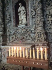 Church Candles Get Replaced By Candle Lamps