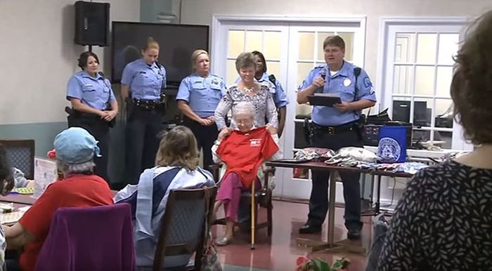 Woman Checks Getting Arrested Off Her Bucket List At 102 Years Old