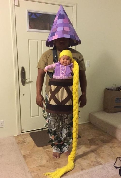 Parents Who Found Clever Ways To Make Their Baby Part Of Their Halloween Costume