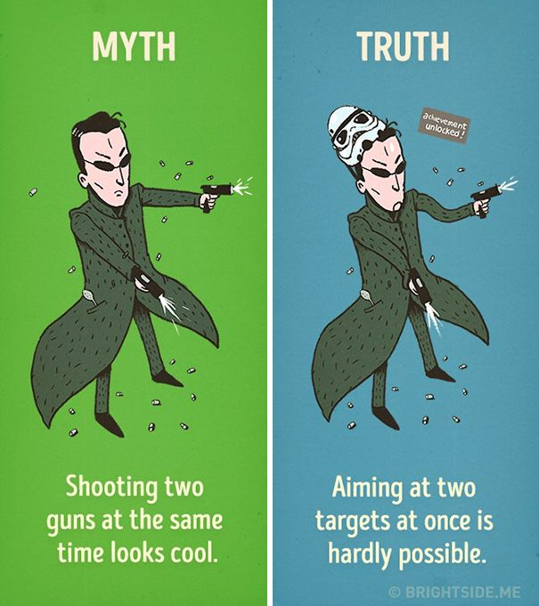 Hollywood's Most Common Movie Myths Debunked