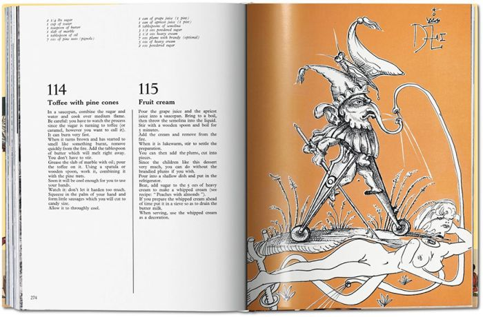 Salvador Dali's Surrealist Cookbook Is Finally Getting Rereleased