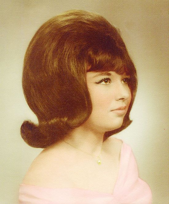 Women Used To Wear Some Crazy Hairstyles In The 1960s