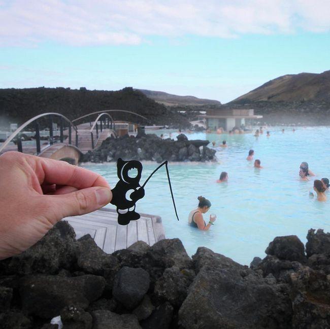 Creative Traveler Turns Reality Into Fantasy