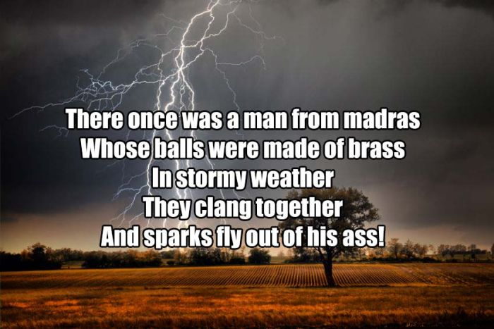 Amusing Dirty Limericks In Honor Of National Poetry Day