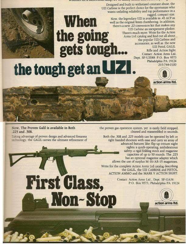 Vintage Gun Ads That Were Definitely Bad Ideas Others