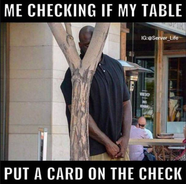 Real Life Situations That All Servers Can Relate To
