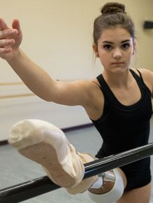 Teenage Amputee Ballerina Makes An Incredible Recovery