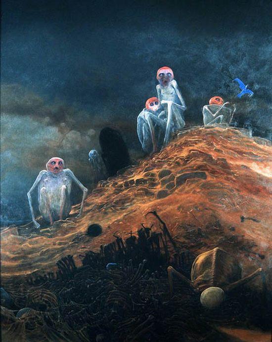 A Murdered Artist's Horrifying Depiction Of Hell