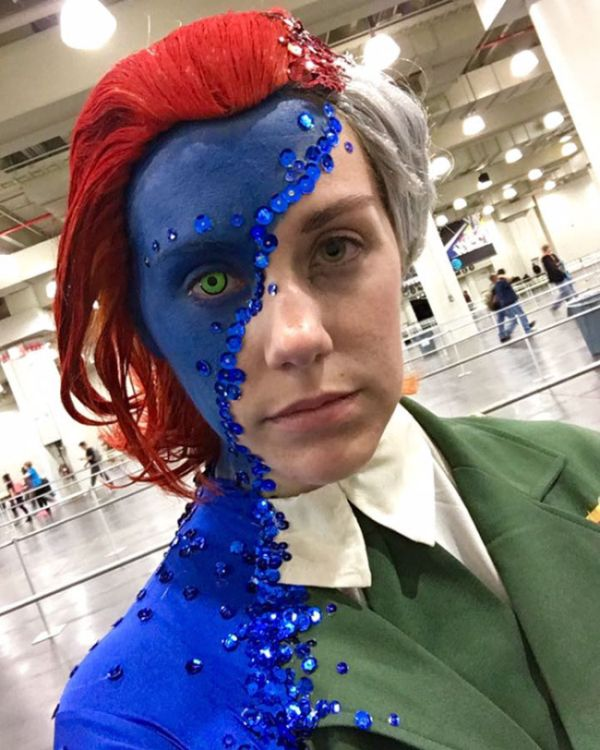 This Mystique Cosplay Blew Everyone Away At New York Comic Con