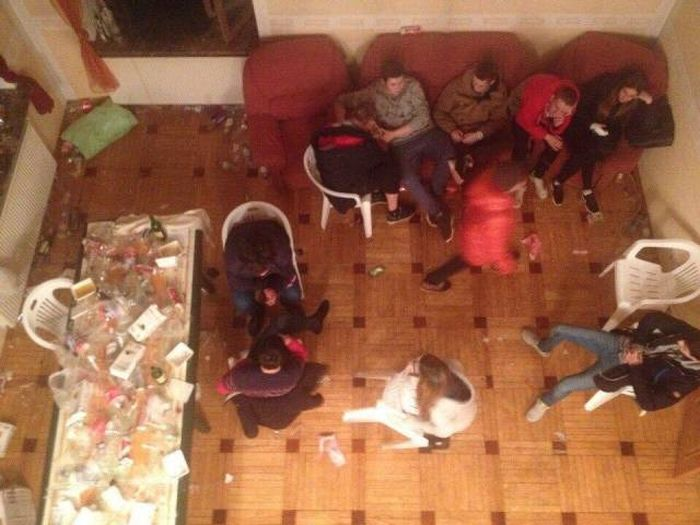Examining The Aftermath Of A Crazy College Party