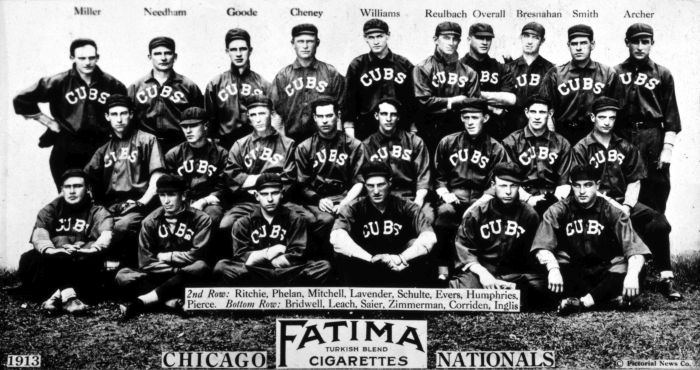 Here's What's Happened Since The Last Time The Chicago Cubs Won A World Series