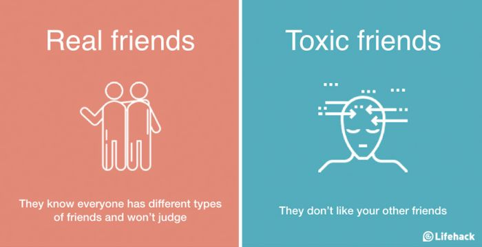 How To Tell The Difference Between Real Friends And Toxic Friends