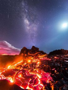 Photographer Risks Getting Burned To Capture An Incredible Photo