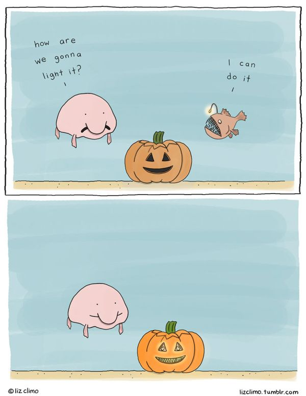 Simpsons Illustrator Imagines What Animals Would Do On Halloween