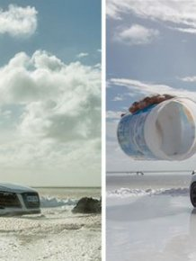 Photographer Shoots Impressive Audi Pics Using A Miniature Toy Car