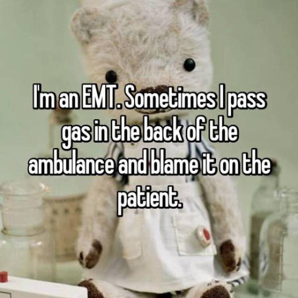 Firefighters And EMTs Confess Things They Normally Keep To Themselves