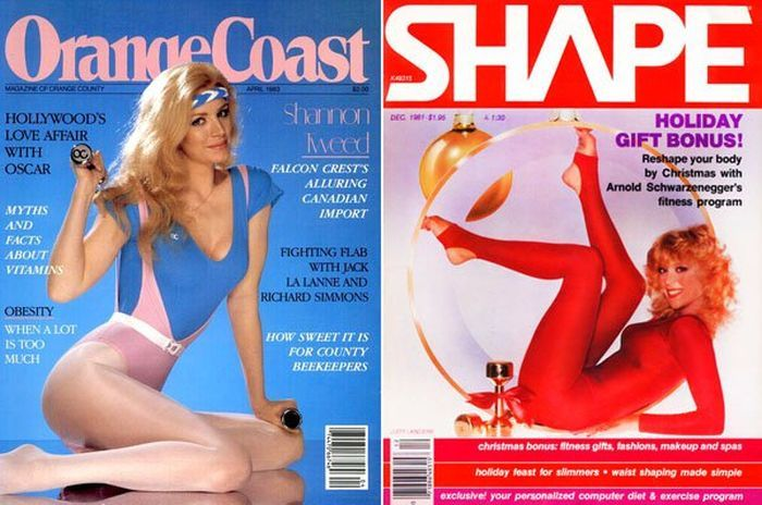 Fitness Magazines Were Out Of Control In The 80s