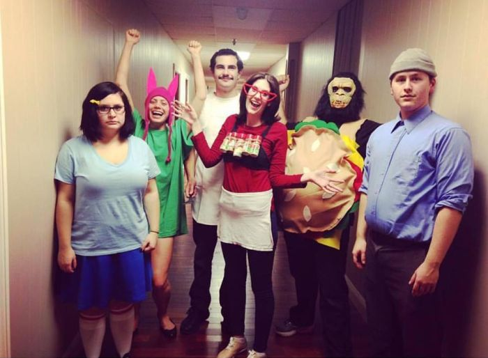 great ideas for amusing group halloween costumes - Halloween Costumes For 7