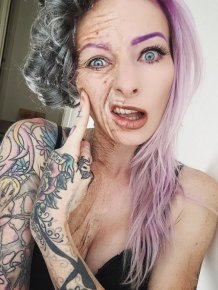 Sarah Mudle's Creepy Makeup Art Will Give You Nightmares