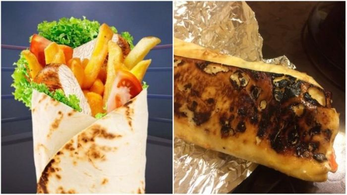 Ordering Food, Expectations Vs. Reality