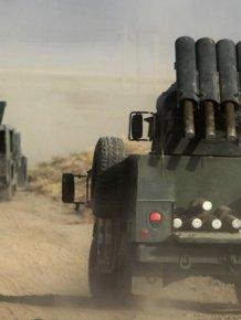 Armored Cars Of The Kurdish Peshmerga Militia