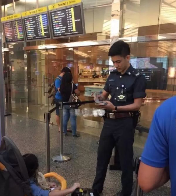 Airport Security Guy Goes Viral