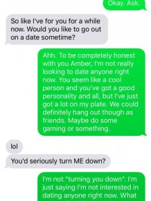 Girl Goes Nuts After Guy Rejects Her Via Text