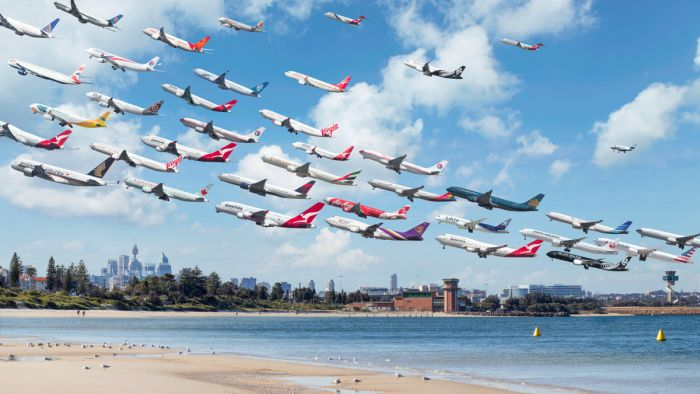 Unbelievable Air Traffic Photos From All Around The World