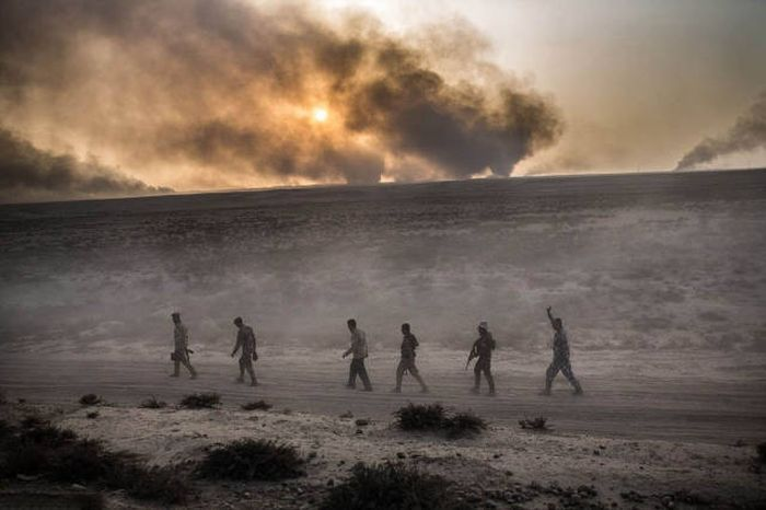 Shocking Photos Show The War Against ISIS On The Mosul's Frontline