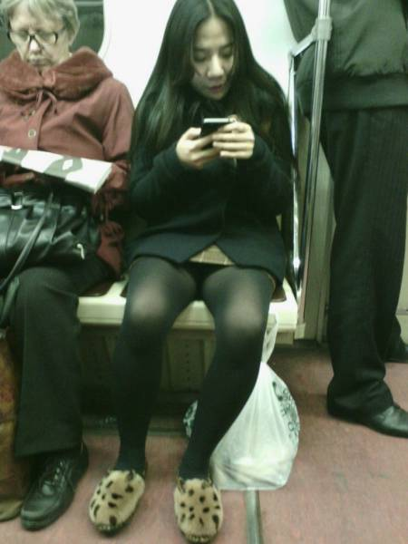 You Can See All Kinds Of Weird Stuff When You Ride The Subway