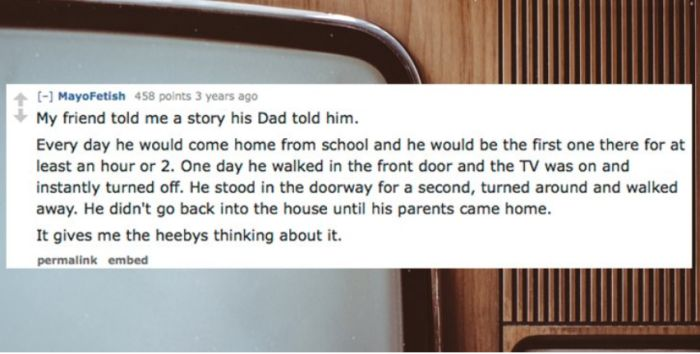 People Share Their Scariest Ghost Stories