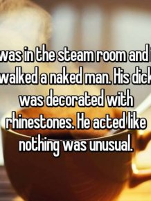 Strange Things People Saw While They Were At The Gym