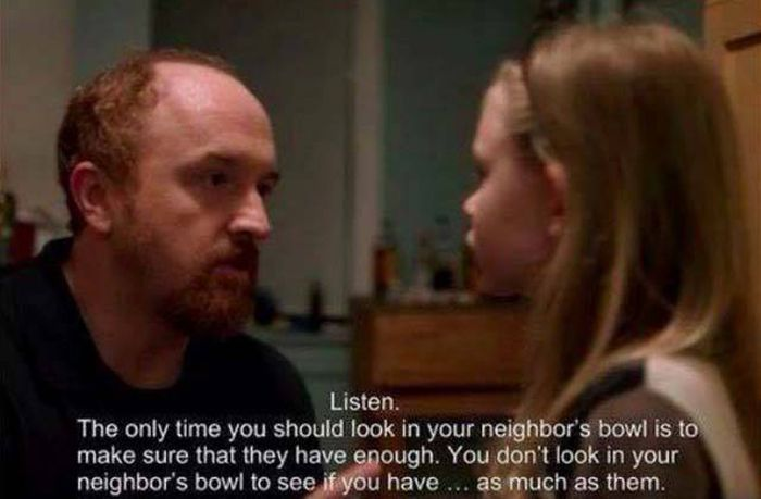 Louis CK Teaches Everybody A Valuable Life Lesson