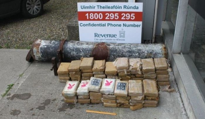 Huge Cocaine Stash Found In Torpedo Like Tube In Ireland