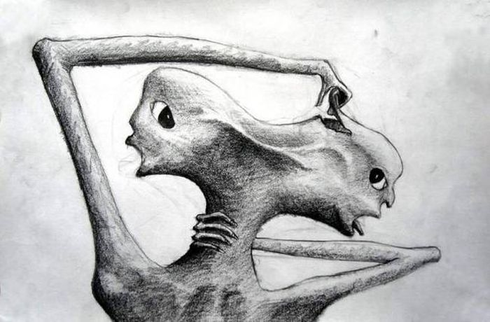 Crazy Drawings Made By People Who Struggle With Schizophrenia