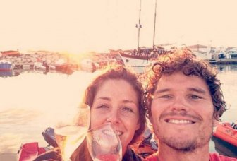 Couple Travels From England To France In A Homemade Boat