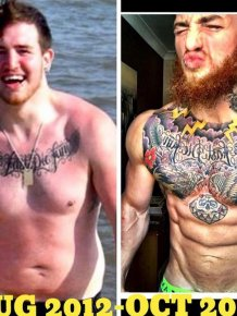 This Guy Lost Weight And Completely Changed His Body