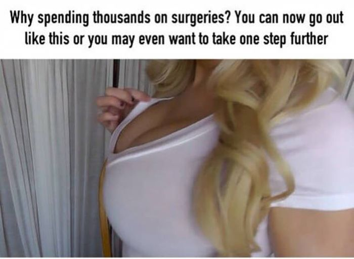 Girl Reveals A Simple Trick To Help Women Increase Their Bust