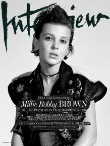 Eleven From Stranger Things Poses For Epic First Magazine Cover