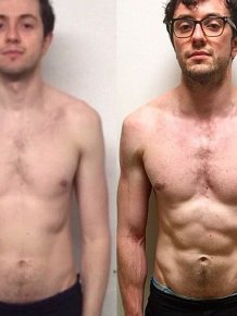 Banker Transforms His Body In Just 12 Weeks