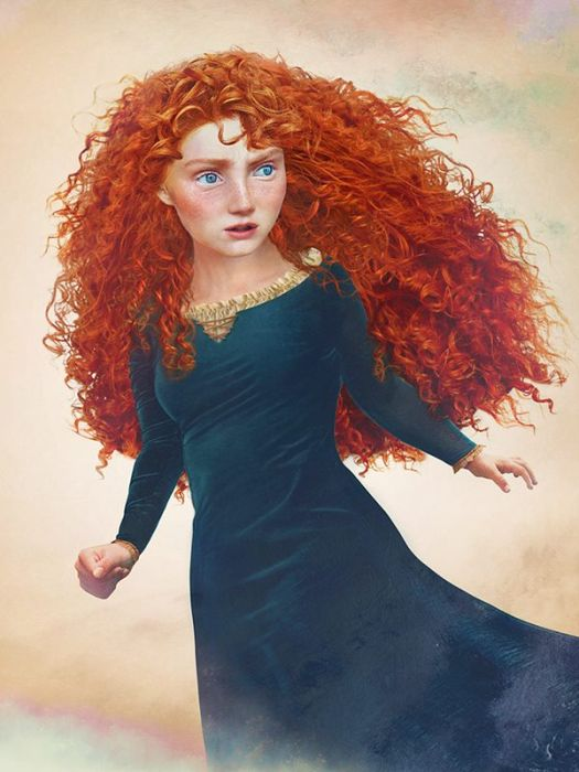 Finnish Artist Imagines What Disney Characters Would Look Like In Real Life