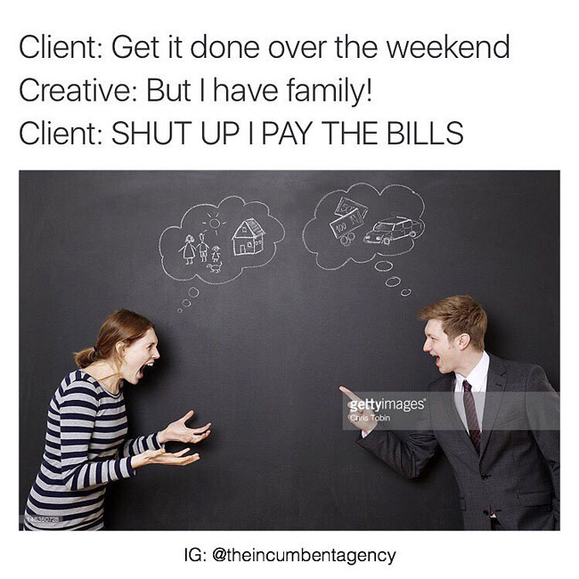 Ad Agency Adds Hilarious Quotes To Stock Photos Fun