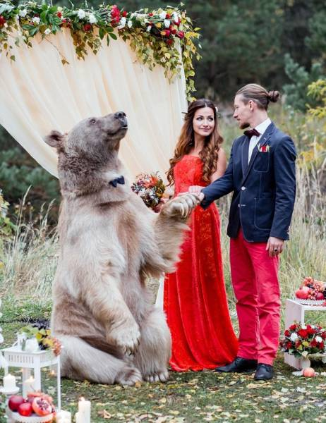 Just An Ordinary Wedding In Russia