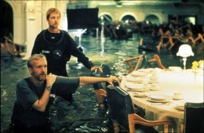 Photos From The Set Of The Iconic Film Titanic
