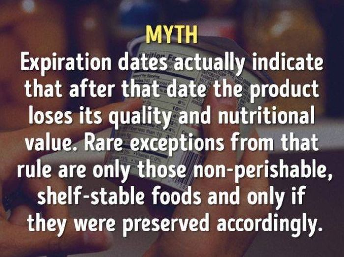 Myths About Food That You Need To Stop Believing