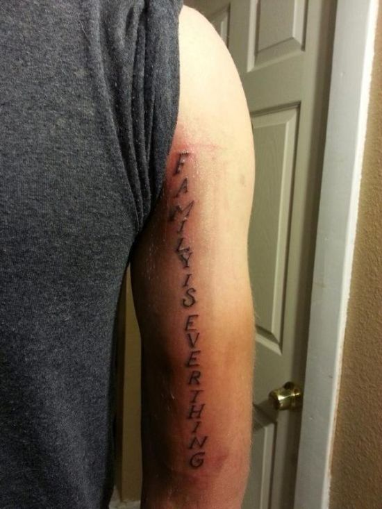 Unfortunate Tattoos With Misspelled Words